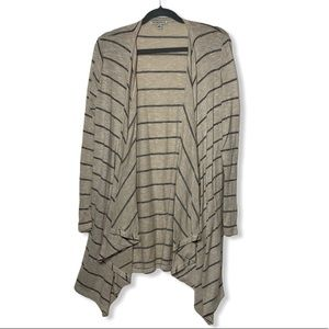 American Eagle Striped Open Front Waterfall